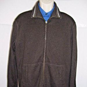 Banana Republic Double Zip Collar Sweater Cardigan